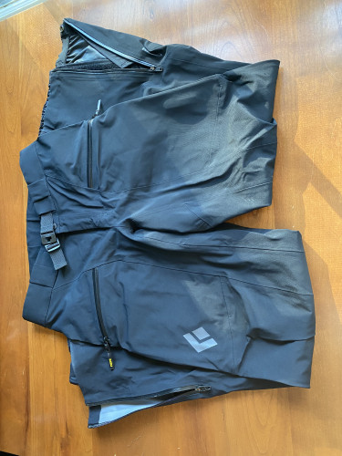 Black Diamond Sharp End Pants size S (worn once)