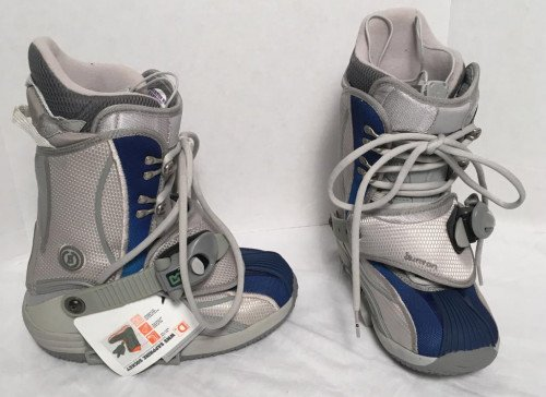 NEW WITHOUT BOX Burton Sapphire Step In Snowboard Boots!  US 5 UK 3