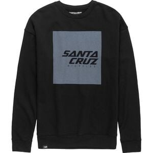 Squared Crew Sweatshirt - Men's Black, M - Good
