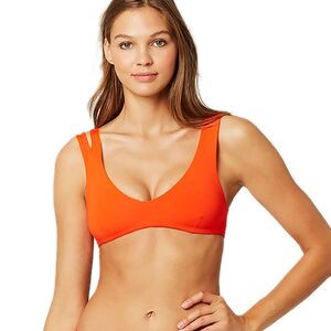 One Wave Reversible Bikini Top - Women's Poppy, S - Excellent