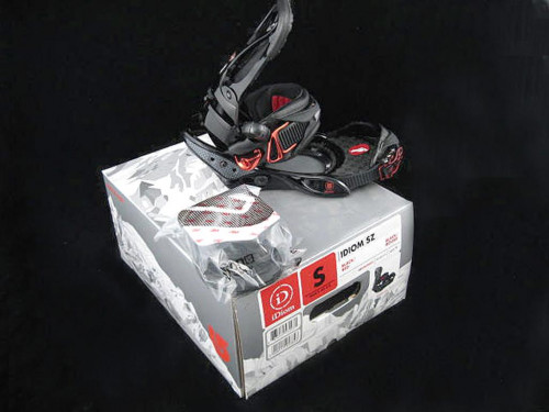 NEW $350 Burton Idiom SZ Mens Snowboard Bindings! Small  *Rare 2008*