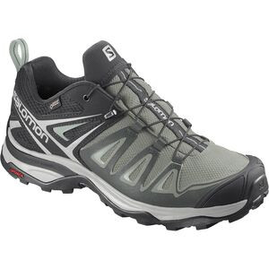 X Ultra 3 GTX Hiking Shoe - Women's Shadow/Lunar Rock/Aqua Gray, US 9.5/UK 8.0 - Excellent