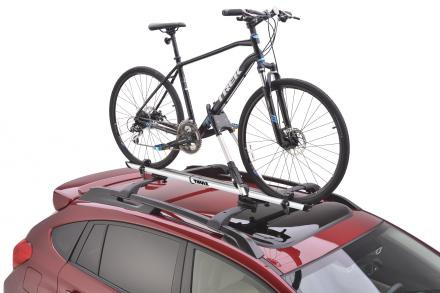 Thule rooftop frame mount bike carrier- for tires up to 2.6