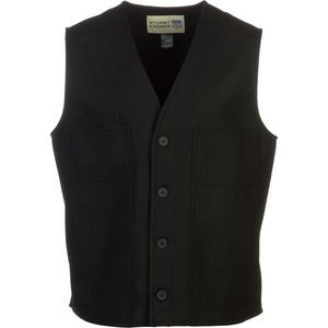 Button Vest - Men's Black, M - Excellent