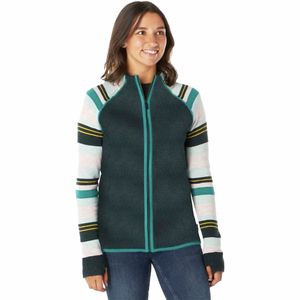 Dacono Ski Full-Zip Sweater - Women's Everglade Heather, S - Excellent
