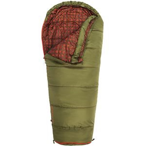 Big Dipper 30 Sleeping Bag: 30F Synthetic - Kids' Avocado, Short/Right Zip - Excellent