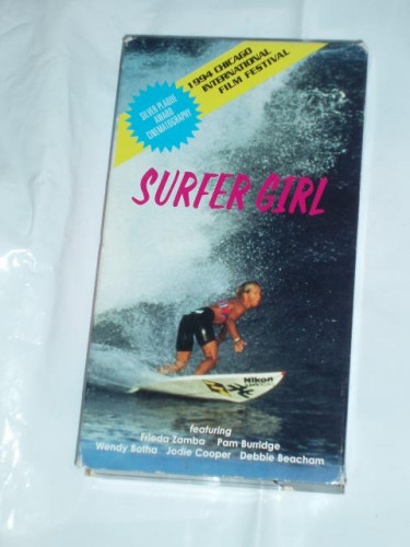 SURFER GIRL VHS tape 1994 Rare music by The Sandals, Santana + more...