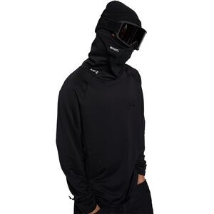 MFI Power Dry Long-Sleeve Balaclava - Men's Black, L - Good