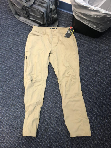 Under Armour HStorm Water resistant Pants -- Never worn