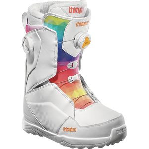 Lashed Double BOA Snowboard Boot - Women's White, 8.5 - Excellent