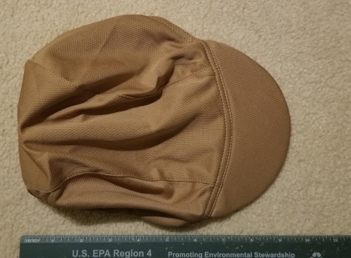 NWOT Ultralight Run/Sun Cap Spandex Mesh with Elastic Headband Apricot