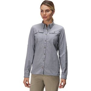 Open Air Casting Long-Sleeve Shirt - Women's Navy, M - Excellent