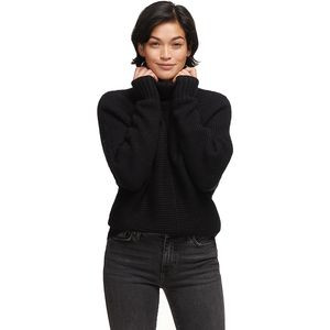 Cozy Seedstitch Sweater - Women's  Black, S - Excellent