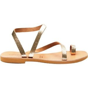 Crescent Sandal - Women's Cracked Gold, 38.0 - Excellent
