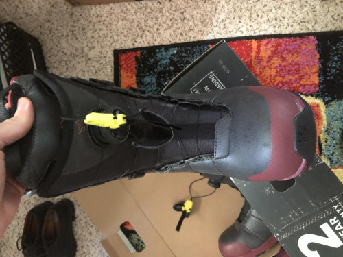 Rome Snowboard Boots, W Size 8 (slightly used), Double-Boa (org. $200)