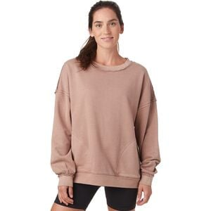Solid Metti Crew Sweatshirt - Women's Elderberry Tea, S - Good