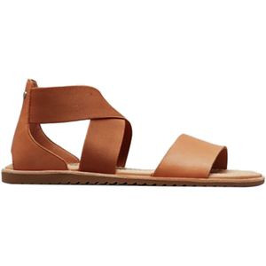 Ella Sandal - Women's Camel Brown, 9.5 - Excellent