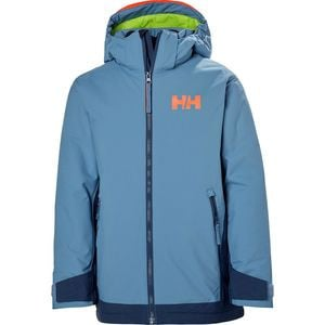 Jr Hillside Jacket - Boys' Blue Fog, 14 - Good