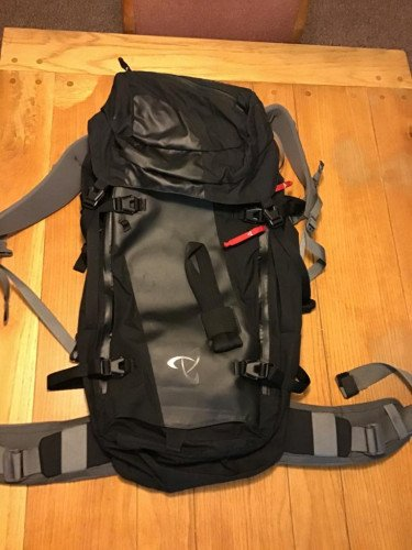 Lightly Used Gallatin Peak 40L Ski Pack