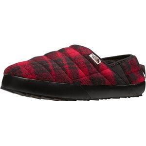 ThermoBall Traction Mule V Wool Bootie - Men's TNF Red Plaid/TNF Black, 8.0 - Excellent