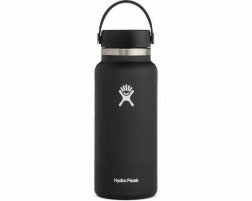 Hydro Flask 32oz Wide Mouth Water Bottle- BLACK