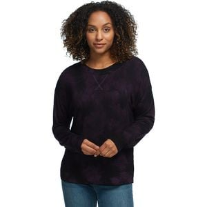 Tie Dye Pullover - Women's Purple Wine, S - Excellent