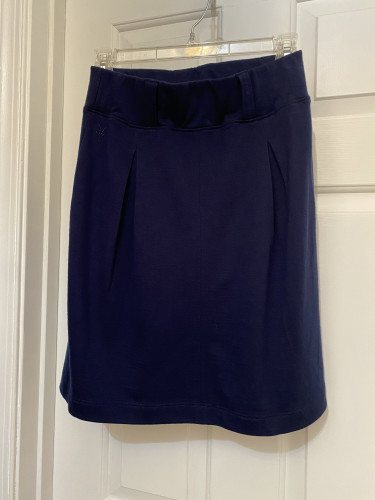 Women's Ibex Cinch Skirt, small, blue