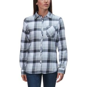 Simply Put II Flannel Shirt - Women's White Check, XS - Excellent