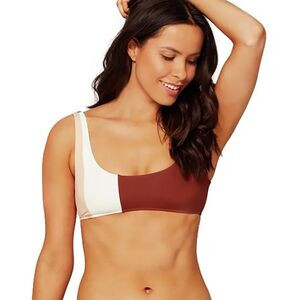 Ibiza Bikini Top - Women's Cream/Desert Rose/Tobacco, M - Excellent