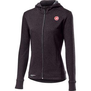 Milano Full-Zip Fleece Jacket - Women's Melange Light Black, M - Excellent