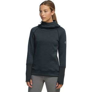 Active Pullover Hooded Sweatshirt - Women's Black, S - Good