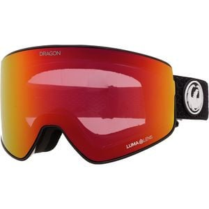 PXV2 Goggles Split Black/LL Red Ion/LL Light Rose, One Size - Good