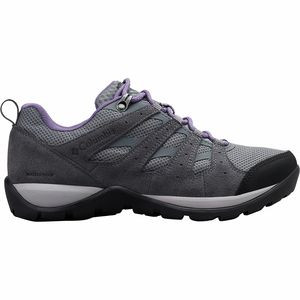 Redmond V2 WP Hiking Shoe - Women's Ti Grey Steel/Plum Purple, 7.0 - Good