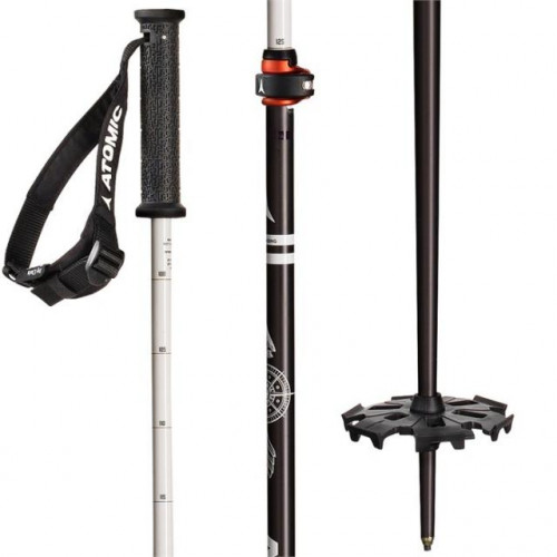 ATOMIC BACK LAND FREERIDE ADJ ALPINE / TOURING SKI POLE