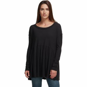 Forever Your Girl Long Sleeve Shirt - Women's Black, XS - Good