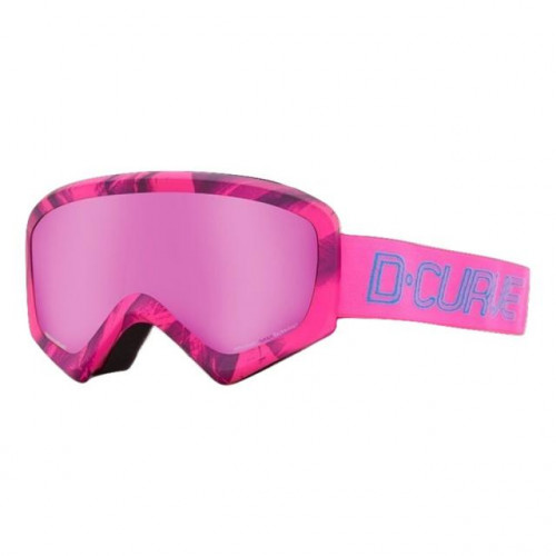 DCURVE Pano Pink Snow Goggles