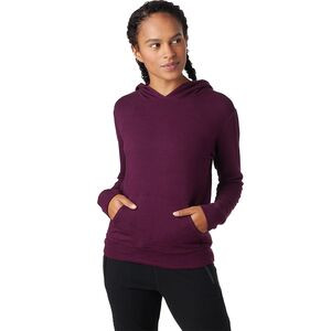Super Soft Kangaroo Pullover Sweatshirt - Women's Merlot, S - Excellent