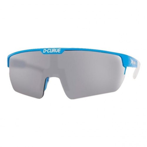 DCURVE Challenger Matte Light Blue with White Sport Sunglasses