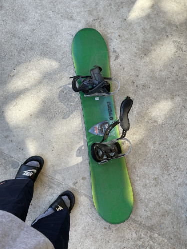 Board w/ bindings