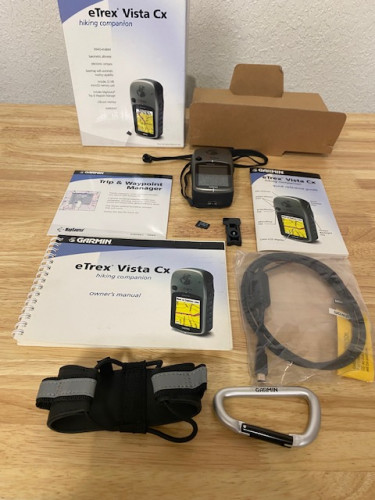 Garmin eTrex Vista CX Hiking Companion
