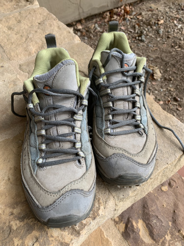 Used Merrell Continuum Vibram Hiking Shoes