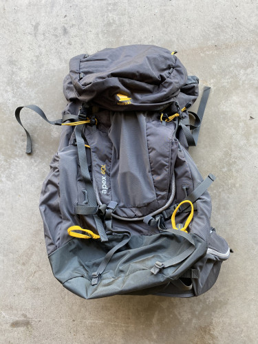 60L Backpacking Backpack