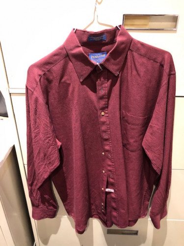 Pendleton Men's Long Sleeve Button Up Shirts Large