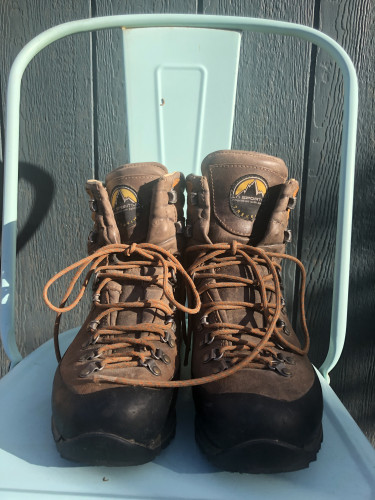 La Sportiva men's hiking mountaineering boots size 9.5