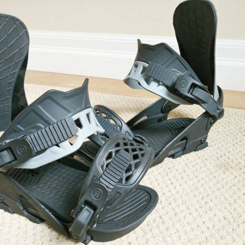 Ride El Hefe Snowboard Bindings Like New Sz M/L 8-12
