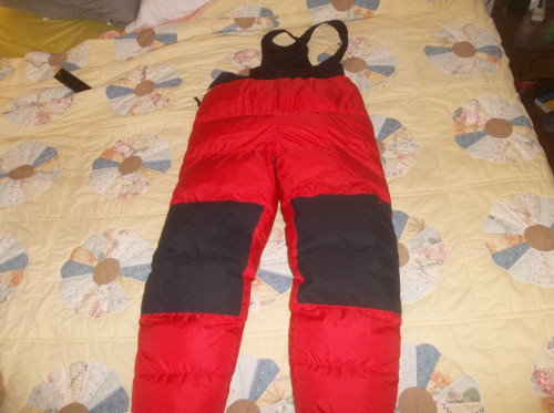 Marmot 8000m Himalayan Goose Down Pants USA Made Gore-tex READ