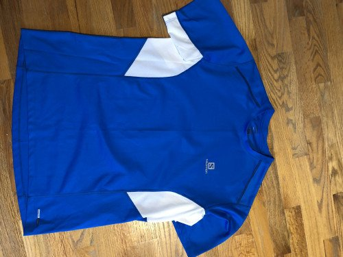 Salomon short sleeve performance shirt