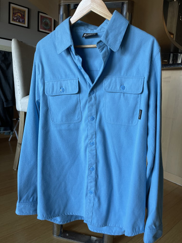 New Cotopaxi Pueblo Flannel - light blue men's