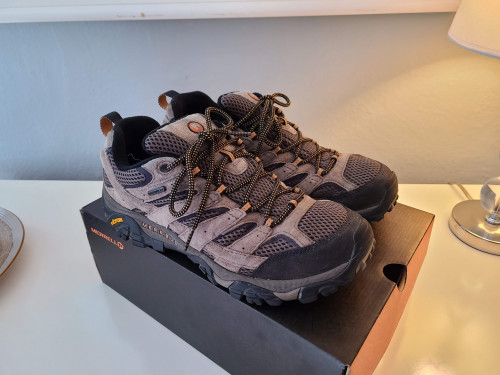 Merrell Moab 2 Waterproof (Walnut color, 10M), Lightly Used