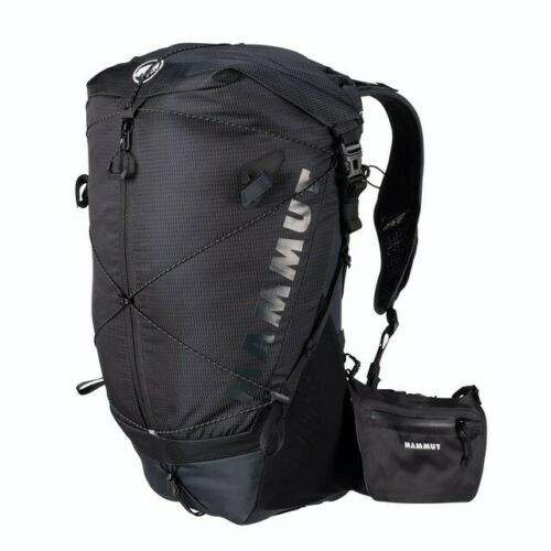 Mammut Ducan Spine Backpack 28-35 NWT Black